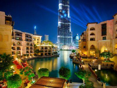 Dubai Night City Tour with Fountain Show